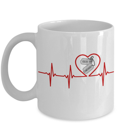 Military - Navy Husband - Lifeline - Mug