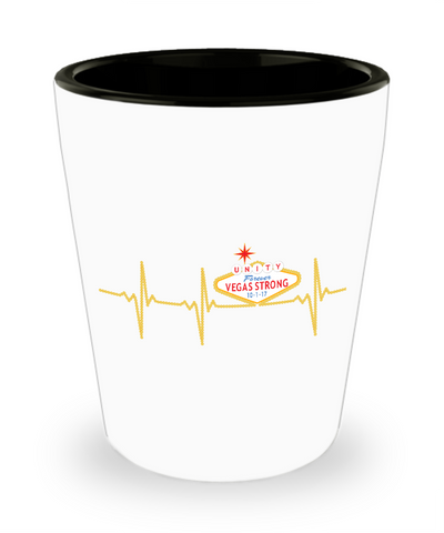 Vegas Strong Lifeline - Shot Glass