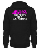 Military - Air Force Girlfriend - Property of a U.S. Airman