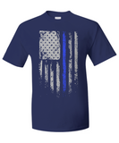E. Law Enforcement Patriotic Thin Blue Line