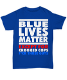 Blue Lives Matter - Except For Crooked Cops