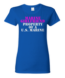 Military - Marine Girlfriend - Property of a U.S. Marine