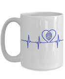 Law Enforcement - Dad - Lifeline - Mug