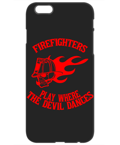 Firefighters - Play Where The Devil Dances Mobile Phone Case (Red)