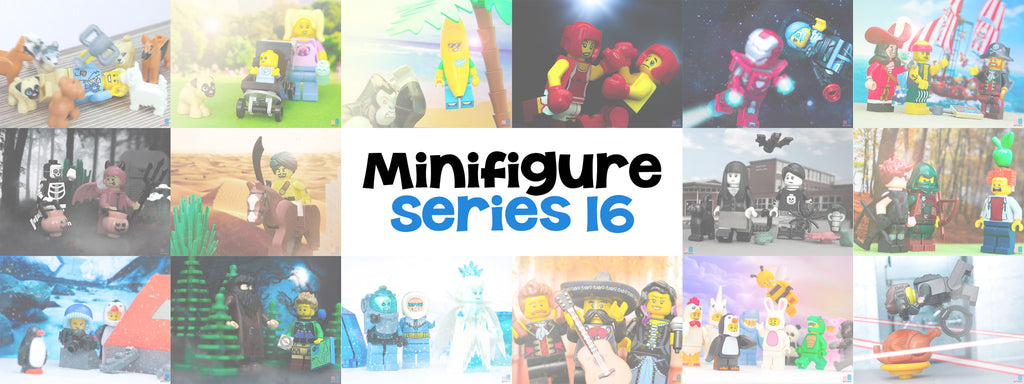 LEGO Minifigures Series 16: The Best One Yet?