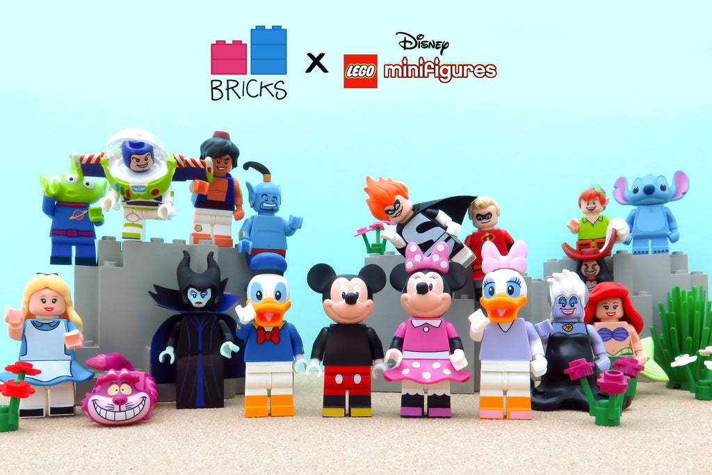 LEGO Disney Minifigures Series 1 Review - Something Magical!