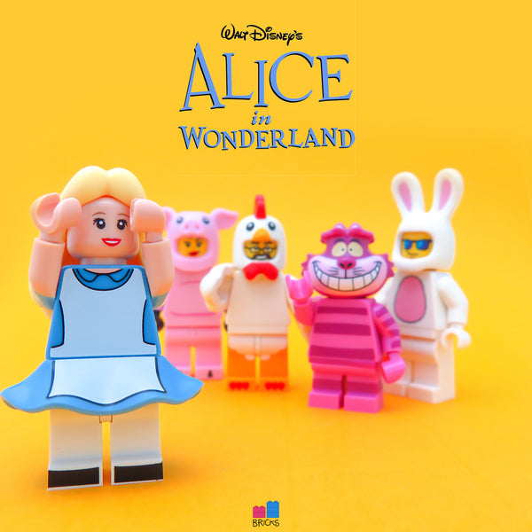 lego disney minifigure series alice