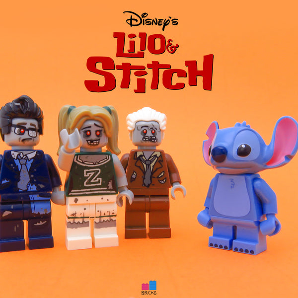 lego disney minifigure series stitch