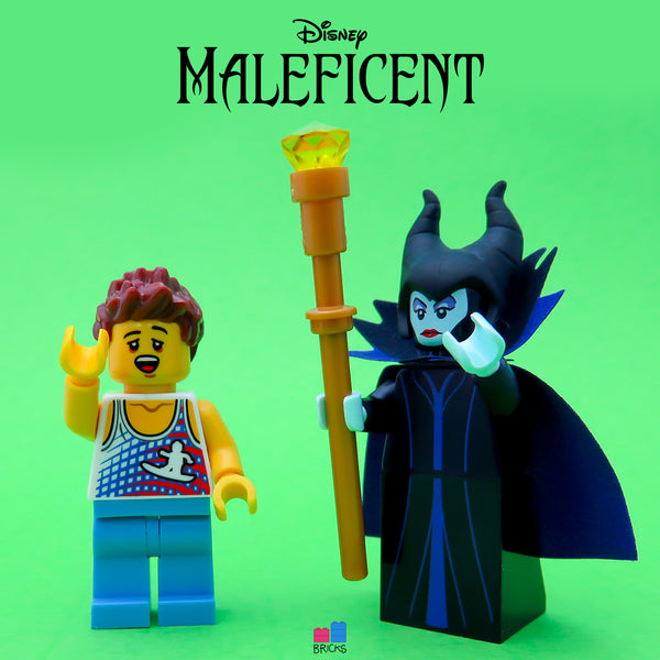 lego disney minifigure series maleficent
