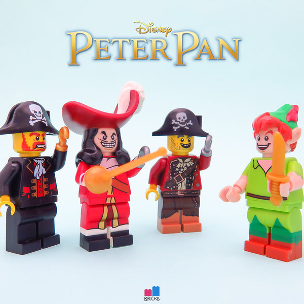 lego disney minifigure series peter pan