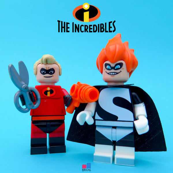 lego disney minifigure series incredibles