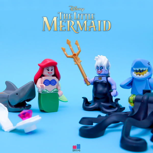 lego disney minifigure series ariel