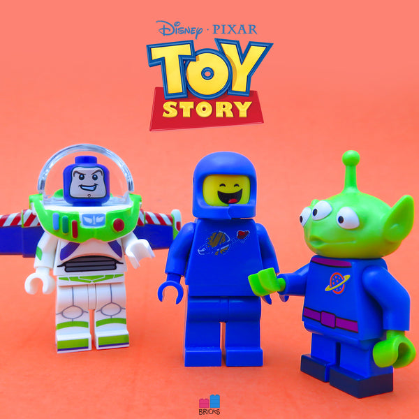 lego disney minifigure series toy story