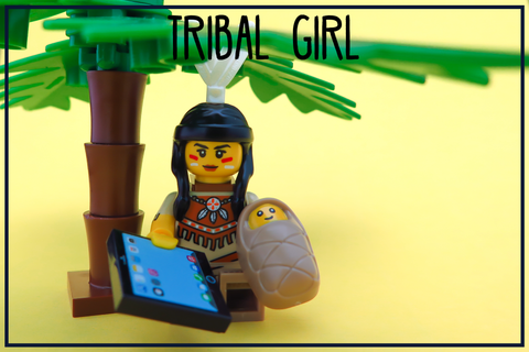 lego series 15 tribal girl