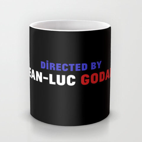 Directed By Jean-Luc Godard Mug - Directed-By  - 1