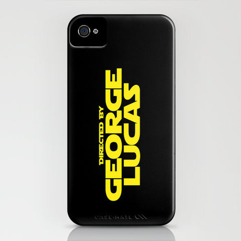 Directed By George Lucas iPhone Case - Directed-By