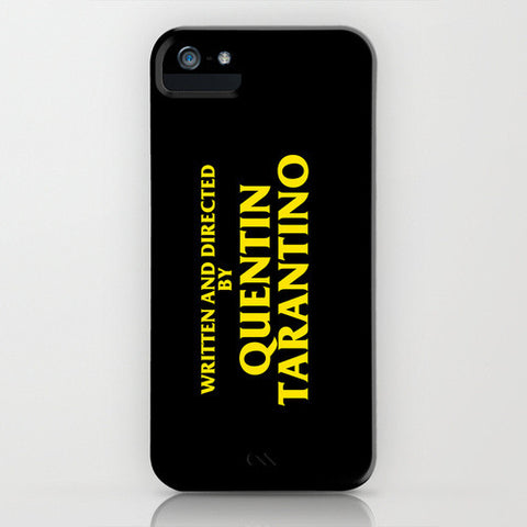 Directed By Quentin Tarantino iPhone Case - Directed-By