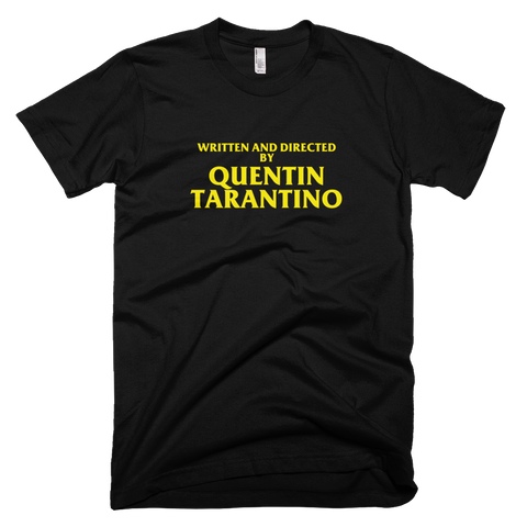 Directed By Quentin Tarantino T-Shirt - Directed-By