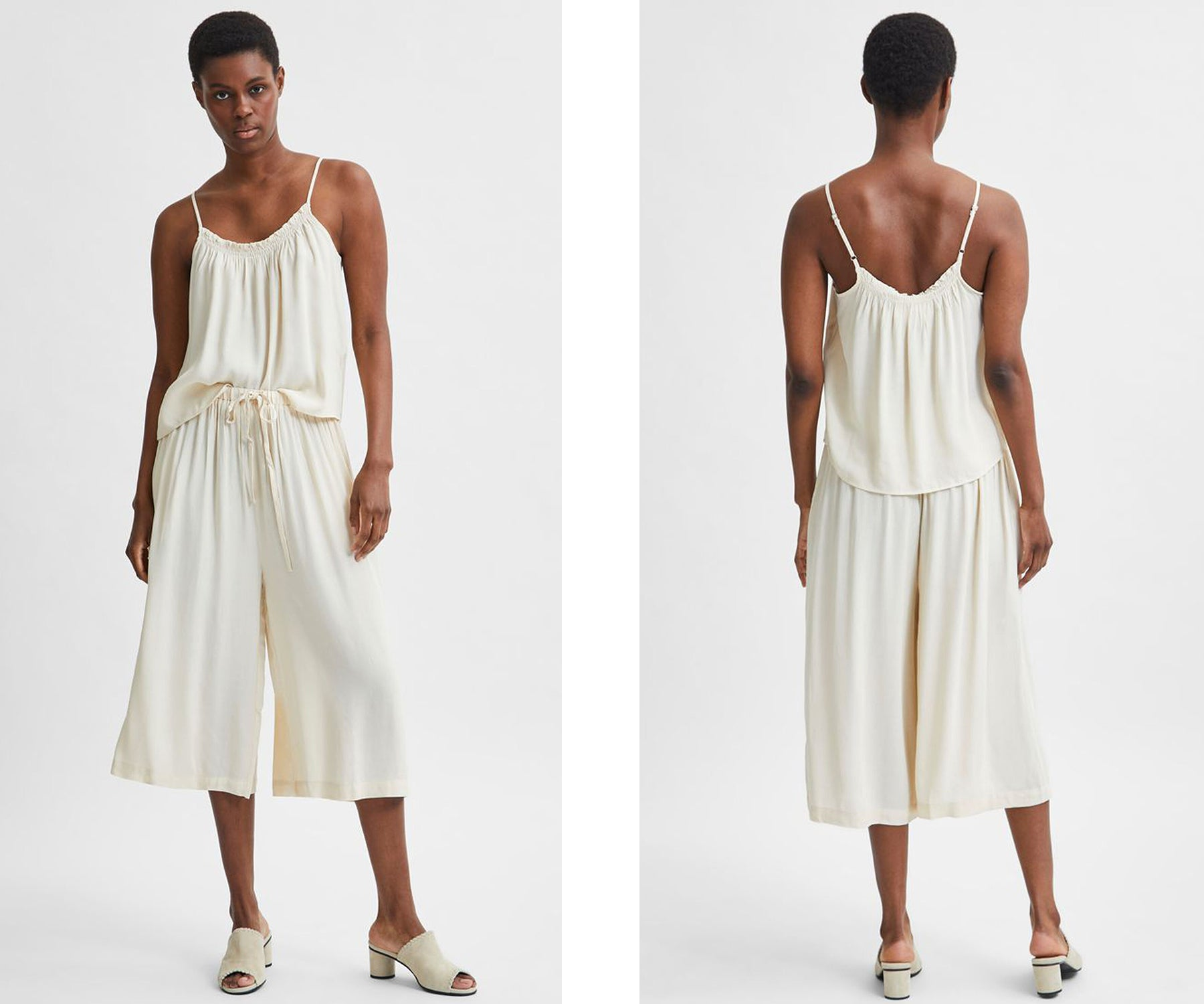 How to style out the heat - Selected Femme Tessi Co Ord