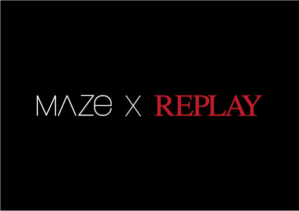 MAZE X REPLAY_BLACK BACKGROUND