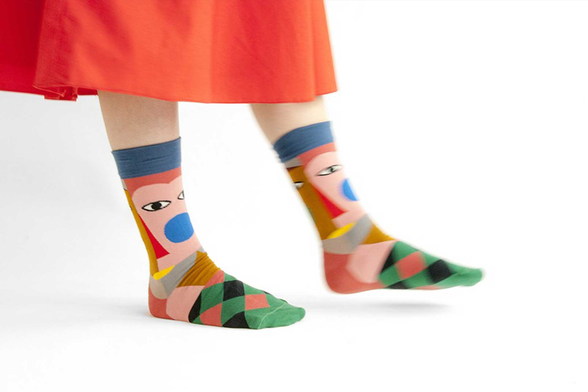 bonne maison socks maze clothing