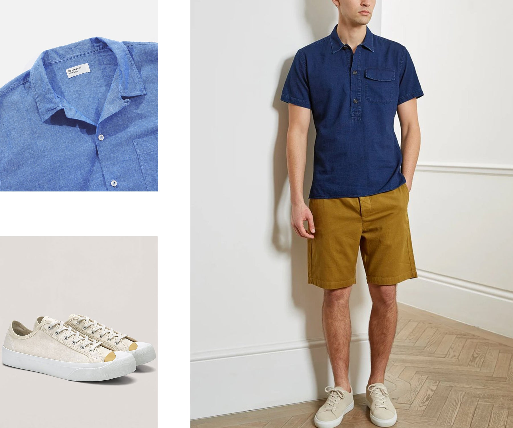 How to style out the heat - menswear outfit