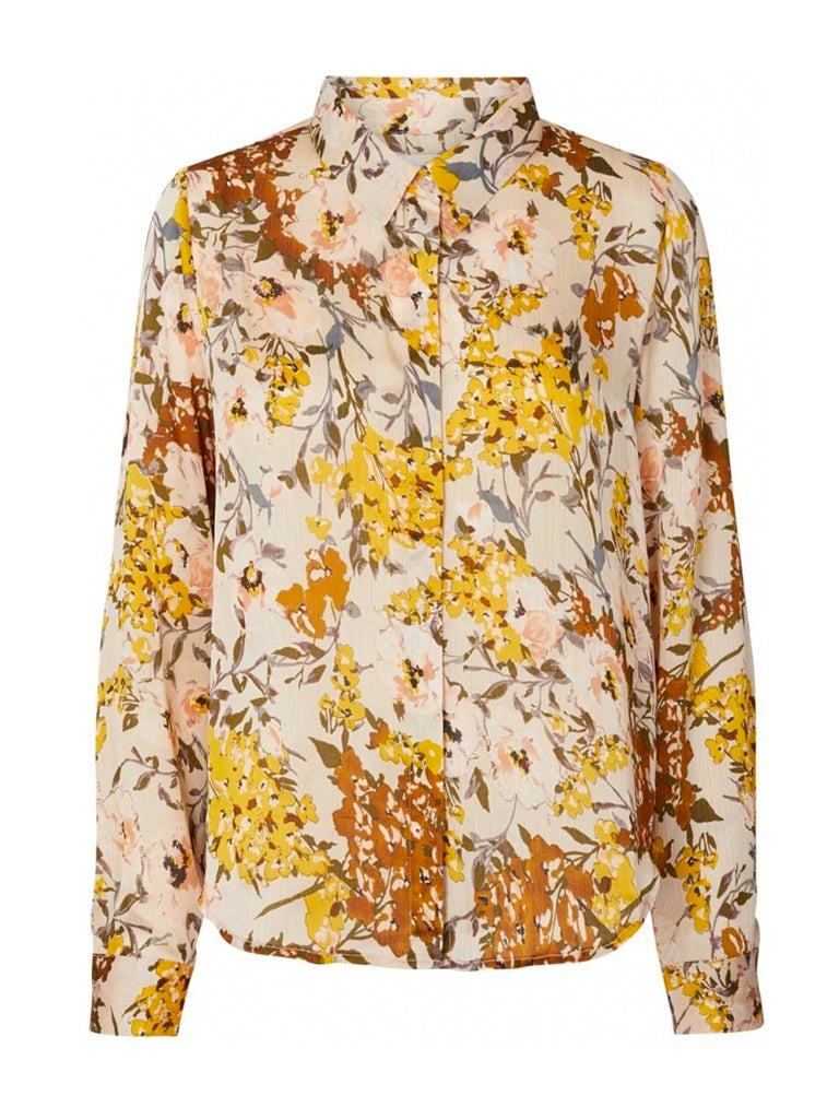 Lolly's Laundry Liana Shirt in Flower Print