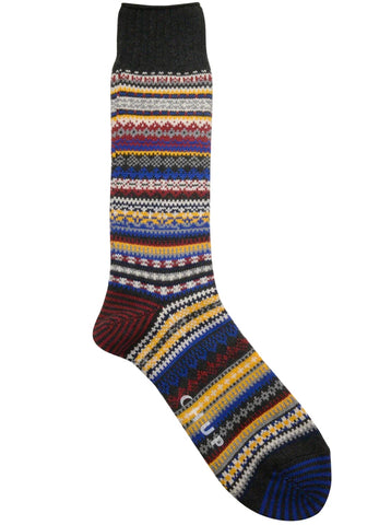 Chup Yö Socks in Charcoal