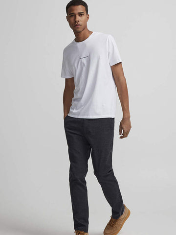 NN07 Ethan Print T-Shirt in White