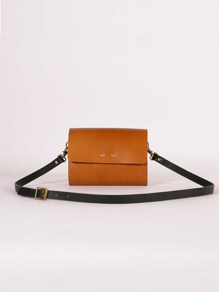 Kate Sheridan Rhythm Bag in Caramel
