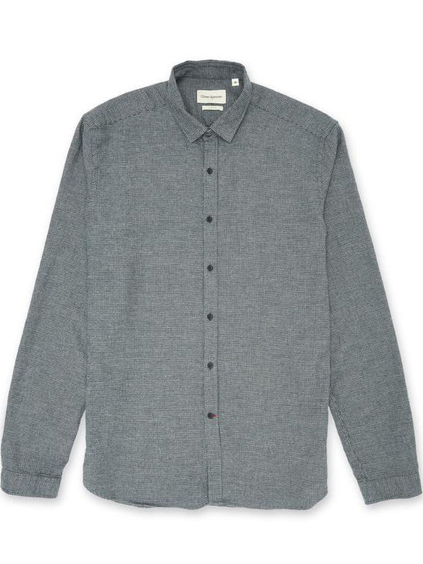 Oliver Spencer Clerkenwell Pippen Shirt in Pippen Grey