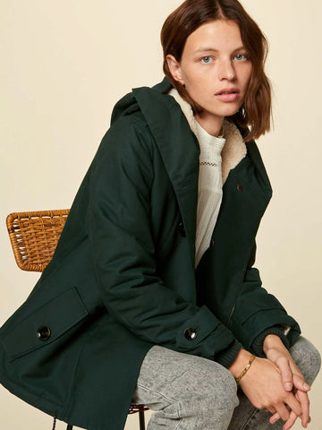 Sessun Sandison Parka in English Tea