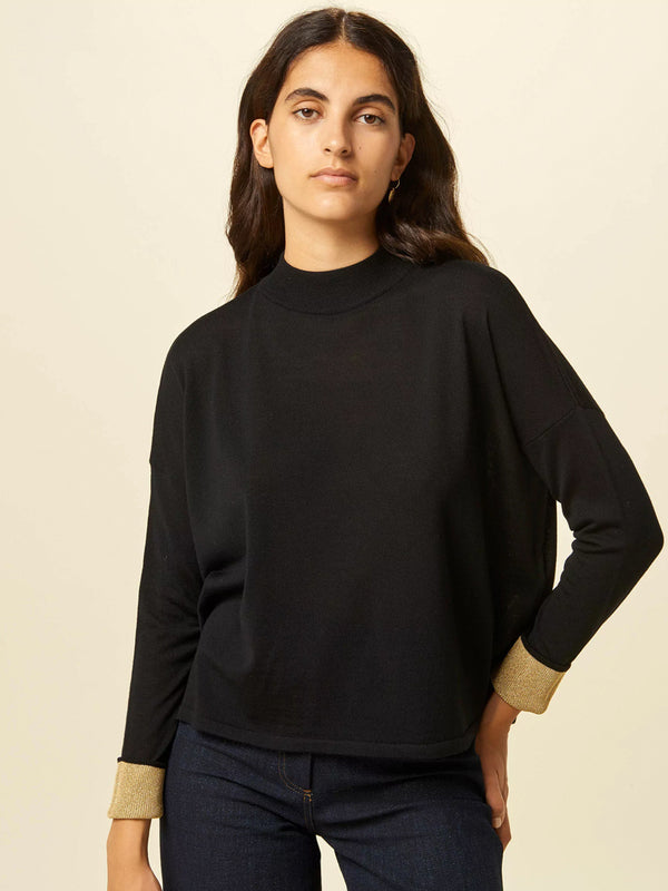 Sessun Massa Knit in Black