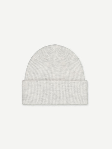 Samsoe Samsoe Nor Hat in White Melange