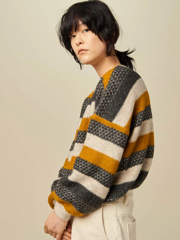 Sessun Wooly Knit in Gold