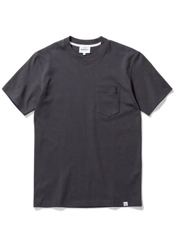 Norse Projects Johannes Pocket T-Shirt in Slate Grey