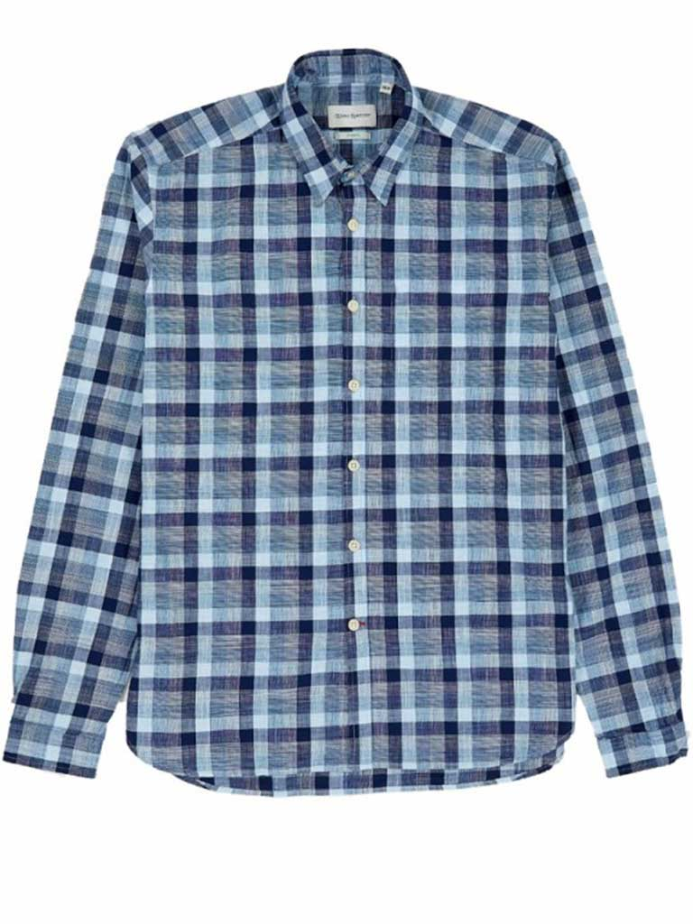 Oliver Spencer New York Special Shirt in Otto Blue