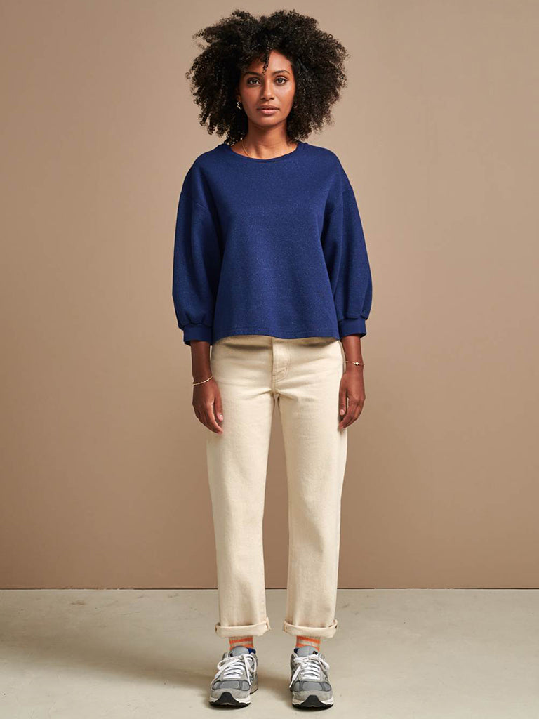 Bellerose Vow Sweater in Royal Blue