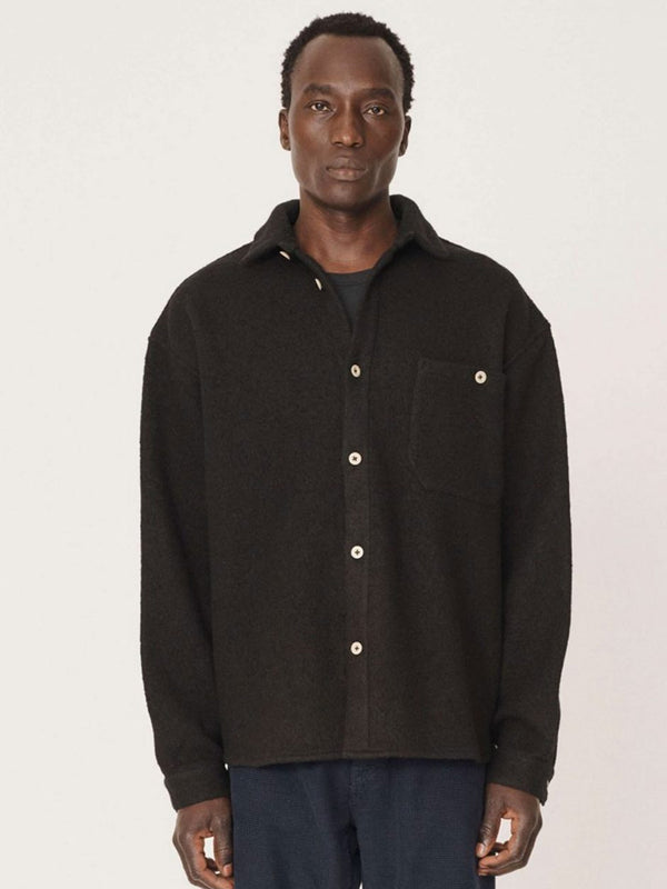 YMC Grizzly Overshirt in Black
