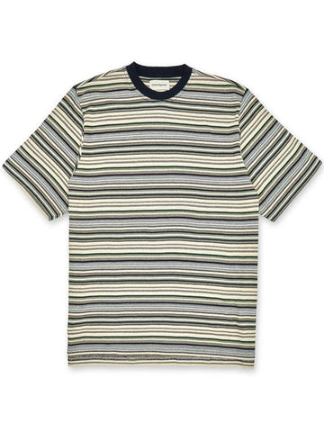 Oliver Spencer Box T-Shirt in Sanders Green