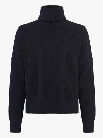Great Plains Hoyle Knit in Black