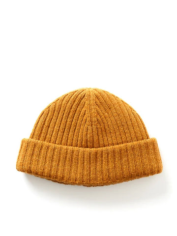 Oliver Spencer Dock Hat in Ochre
