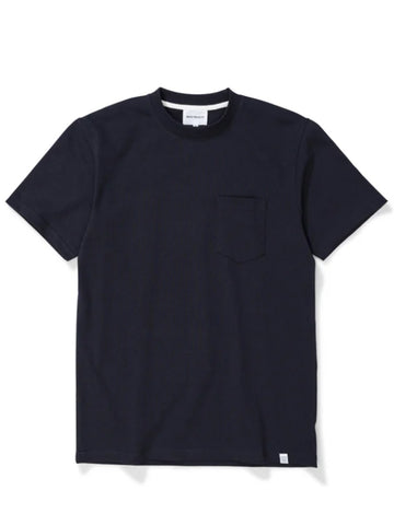 Norse Projects Johannes Pocket T-Shirt in Dark Navy