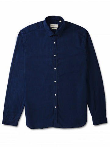 Oliver Spencer Clerkenwell Pippen Shirt in Navy