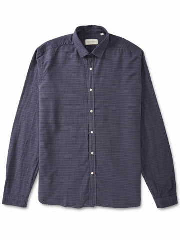 Oliver Spencer Clerkenwell East Shirt in Navy