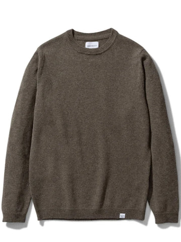 Norse Projects Sigfred Lambswool in Ivy Green