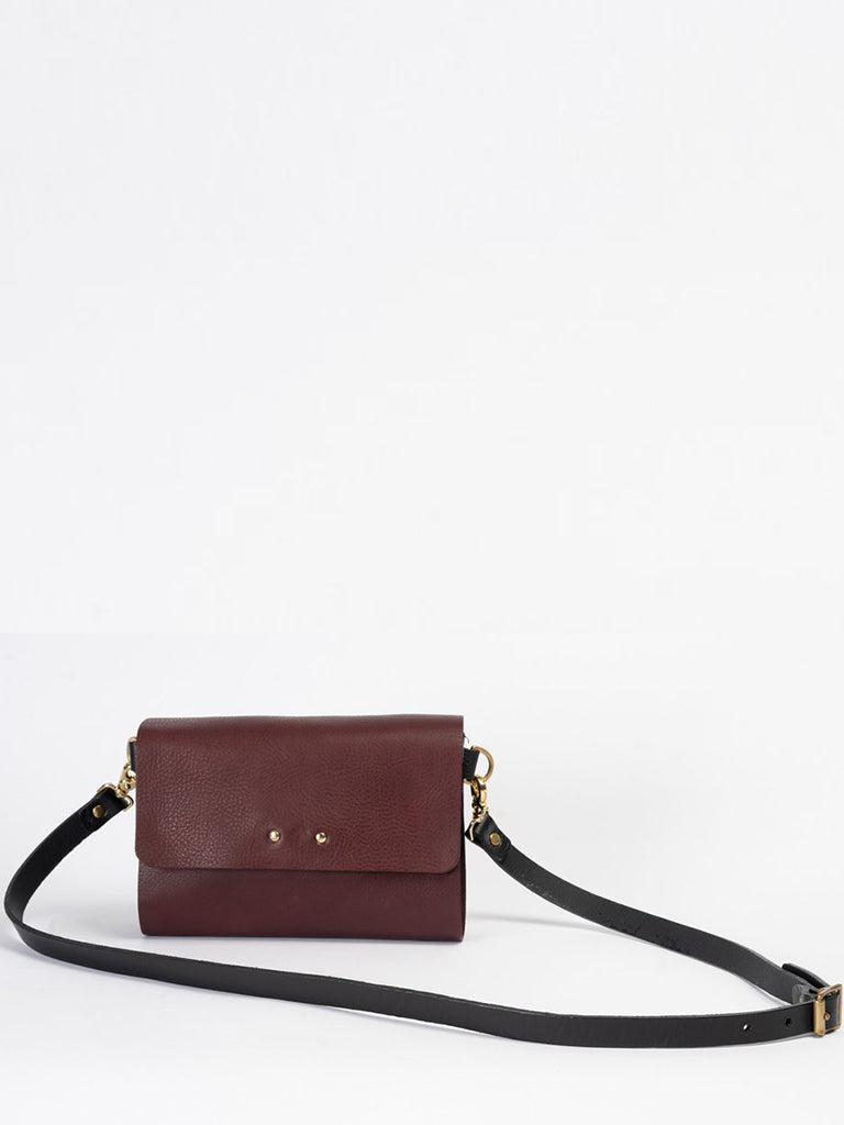 Kate Sheridan Ryhthm Bag in Plum