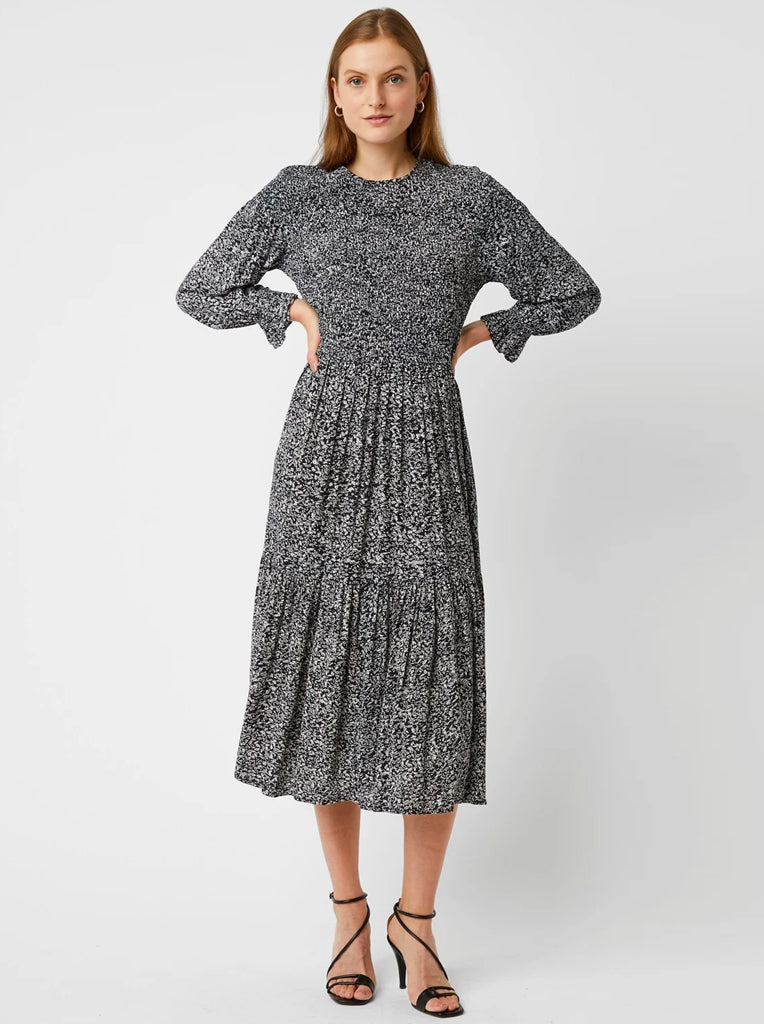 Great Plains Ivy Fleur Dress in Black