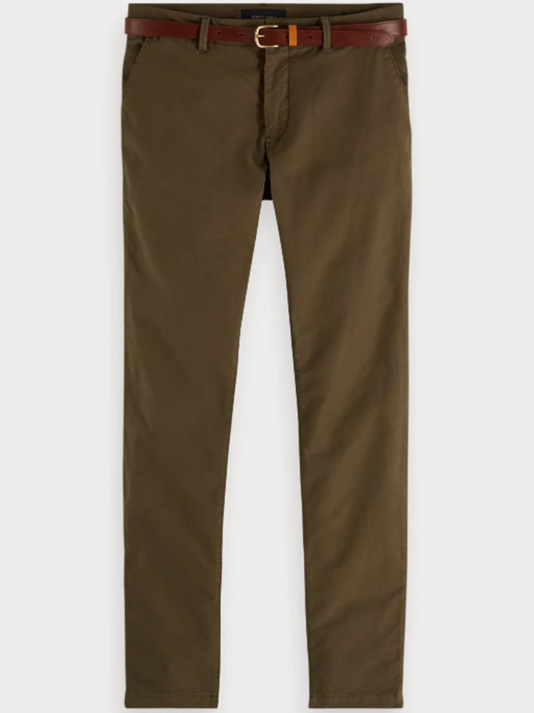 Scotch & Soda Stuart Chino in Olive