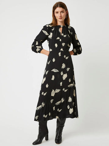 Great Plains Winter Umbra Dress in Black